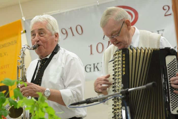 "Musiker der Oldieband ""Montis"" in Bad Oeynhausen"